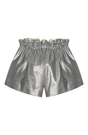 Детские шорты SIMONETTA серебряного цвета, арт. 1M6169/MB620/5-8 | Фото 2