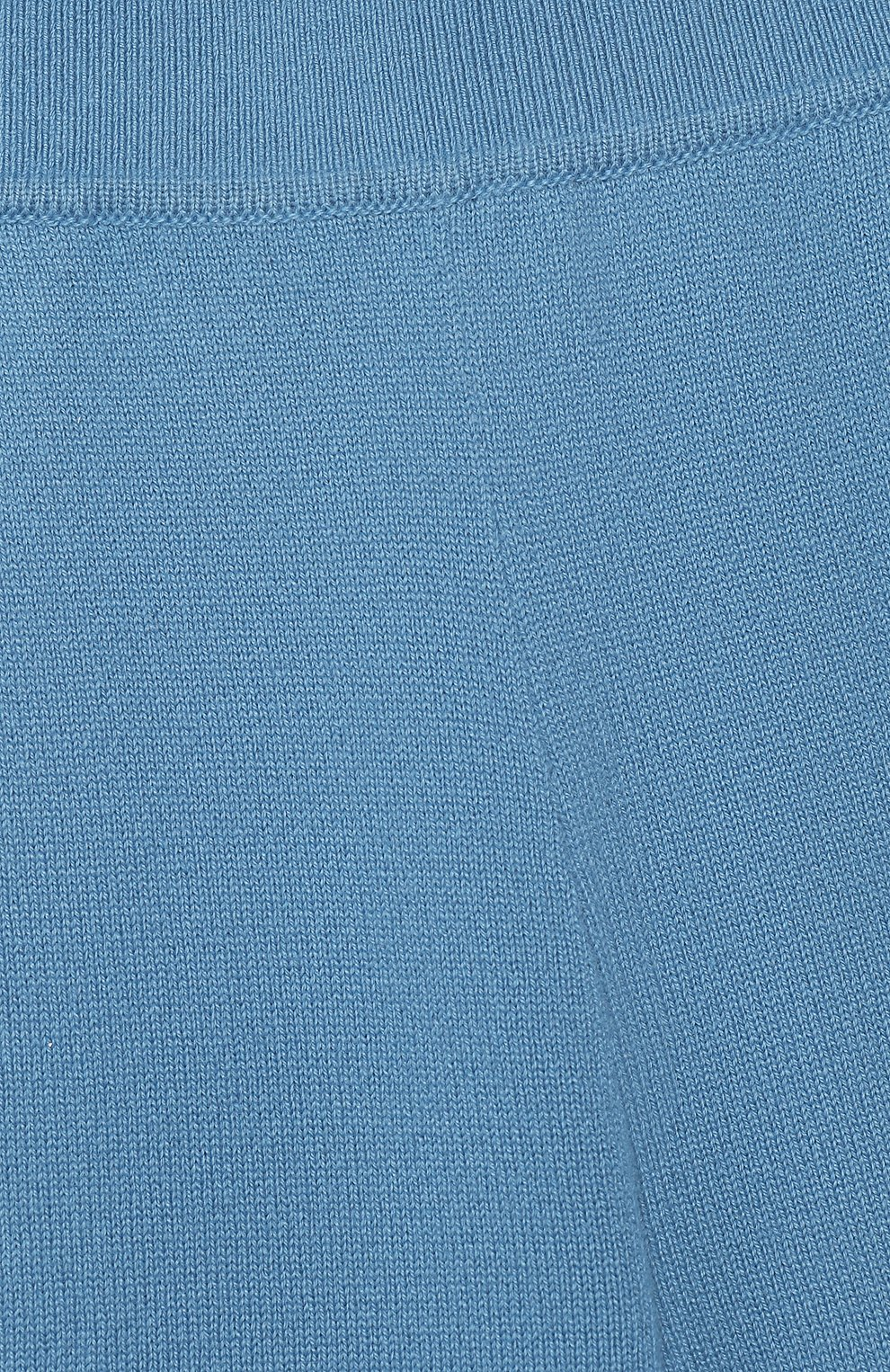 Детские кашемировые брюки LORO PIANA голубого цвета, арт. FAI0797 | Фото 3