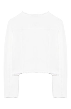 Детская джинсовая куртка TWINSET белого цвета, арт. 201GJ2032/6A-10A | Фото 2