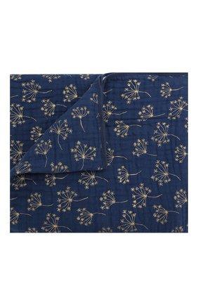 Детского одеяло ADEN+ANAIS синего цвета, арт. 6133   Фото 1