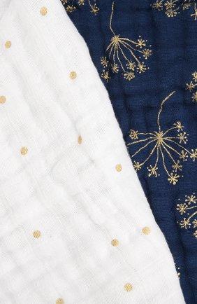 Детского одеяло ADEN+ANAIS синего цвета, арт. 6133   Фото 2