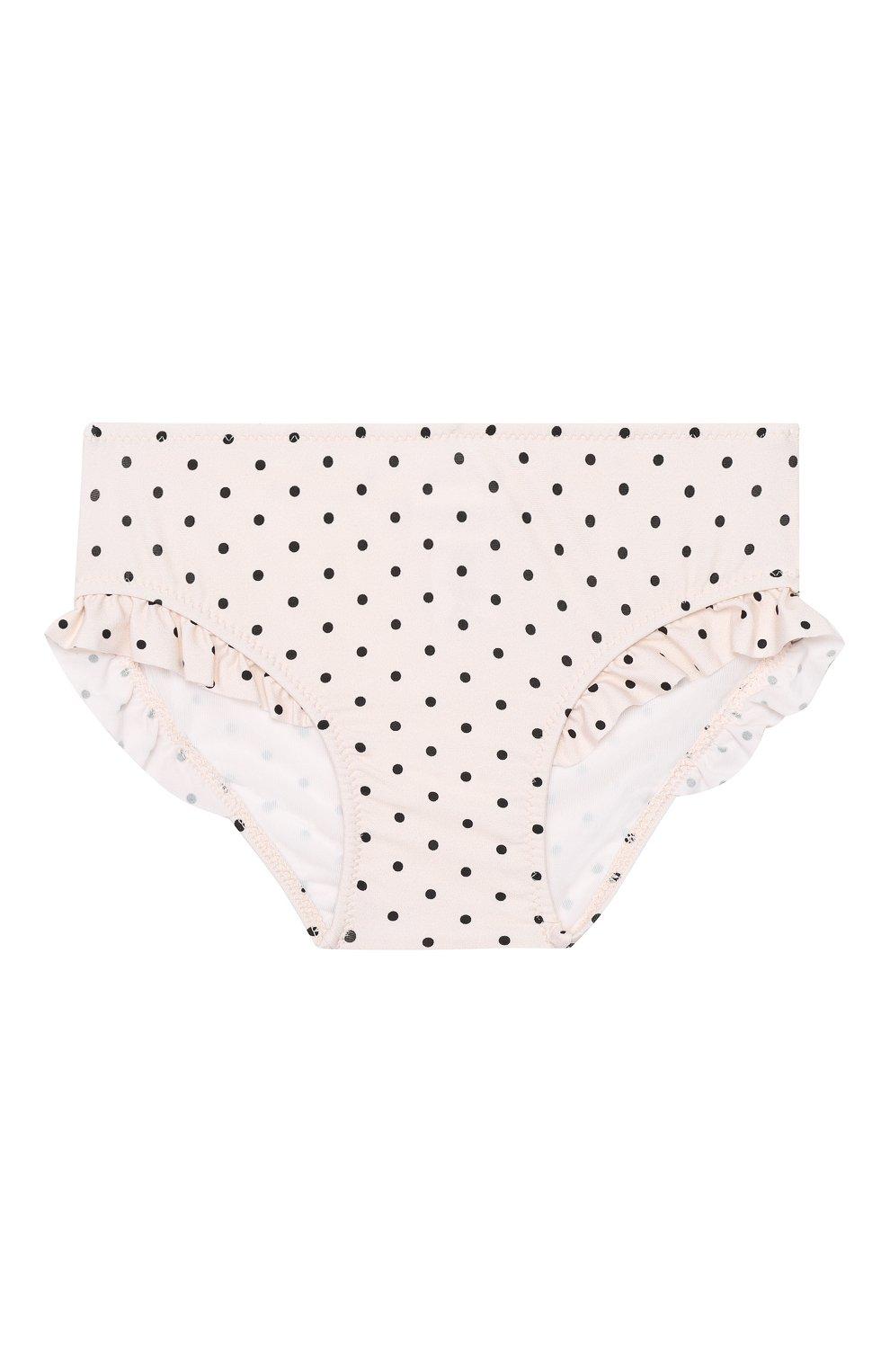 Детского раздельный купальник LA PERLA розового цвета, арт. 66521/18M-36M   Фото 5