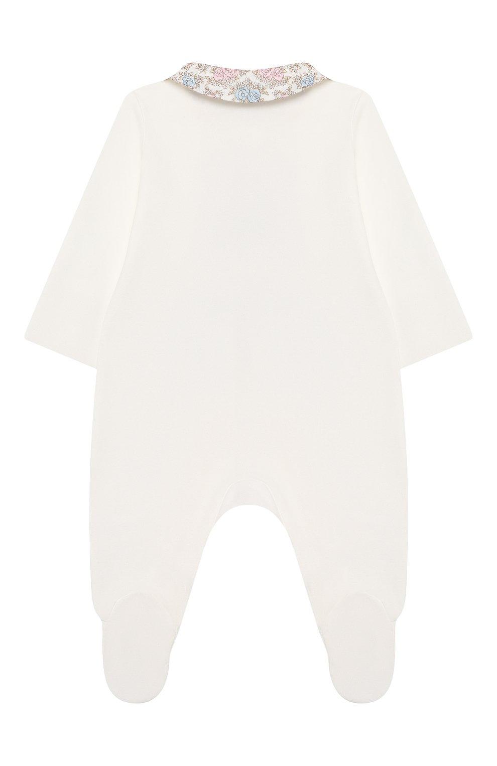 Детского комплект на выписку с пледом французский прованс CHEPE бежевого цвета, арт. 071440 | Фото 5