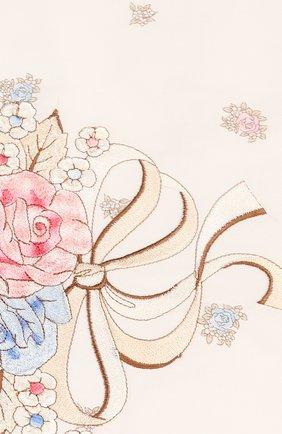 Детского комплект на выписку с пледом французский прованс CHEPE бежевого цвета, арт. 071440 | Фото 9