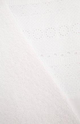 Детского крестильное полотенце елицы CHEPE белого цвета, арт. 071149   Фото 2