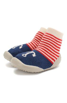 Детского домашняя обувь COLLEGIEN синего цвета, арт. 513E/18-35 | Фото 1