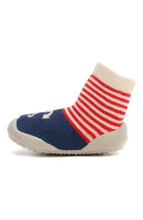 Детского домашняя обувь COLLEGIEN синего цвета, арт. 513E/18-35 | Фото 2