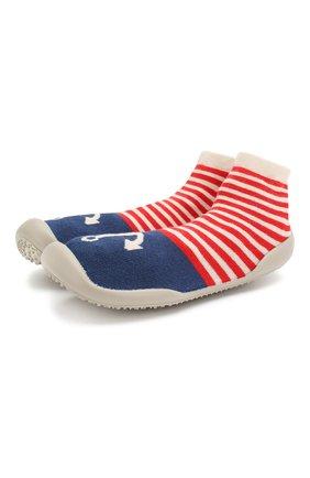 Детского домашняя обувь COLLEGIEN синего цвета, арт. 513E/36-39 | Фото 1