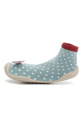 Детского домашняя обувь COLLEGIEN голубого цвета, арт. 510F/36-39 | Фото 2