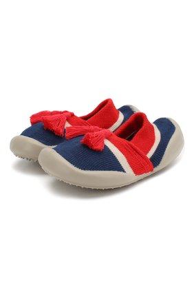 Детского домашняя обувь COLLEGIEN красного цвета, арт. 513F/18-35 | Фото 1