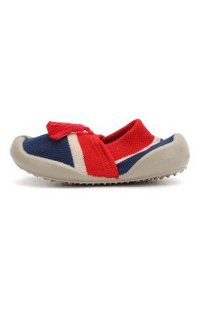 Детского домашняя обувь COLLEGIEN красного цвета, арт. 513F/18-35 | Фото 2