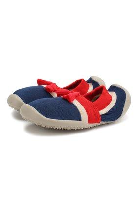 Детского домашняя обувь COLLEGIEN красного цвета, арт. 513F/36-39 | Фото 1