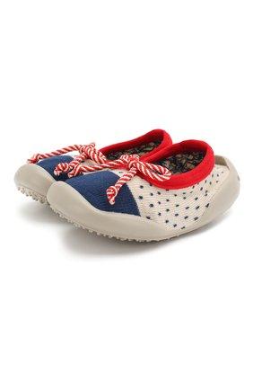 Детского домашняя обувь COLLEGIEN синего цвета, арт. 513G/18-35 | Фото 1
