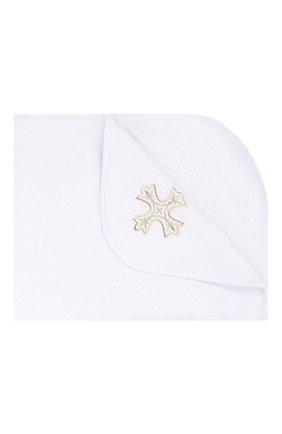 Детского крестильное полотенце елицы CHEPE белого цвета, арт. 071132 | Фото 1