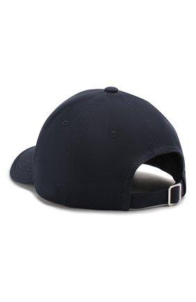 Мужской хлопковая бейсболка BOSS темно-синего цвета, арт. 50422982 | Фото 2