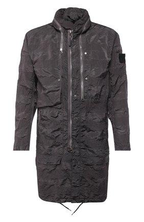 Мужской плащ STONE ISLAND SHADOW PROJECT серого цвета, арт. 721970401 | Фото 1