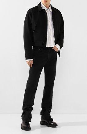 Мужской шерстяная куртка Y/PROJECT черного цвета, арт. JACK58-S18 F01 | Фото 2