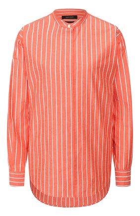 Женская рубашка из хлопка и шелка ISABEL MARANT красного цвета, арт. CH0615-20P018I/WATCHELL | Фото 1