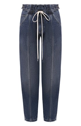 Женские джинсы GIVENCHY синего цвета, арт. BW50FS50D3 | Фото 1