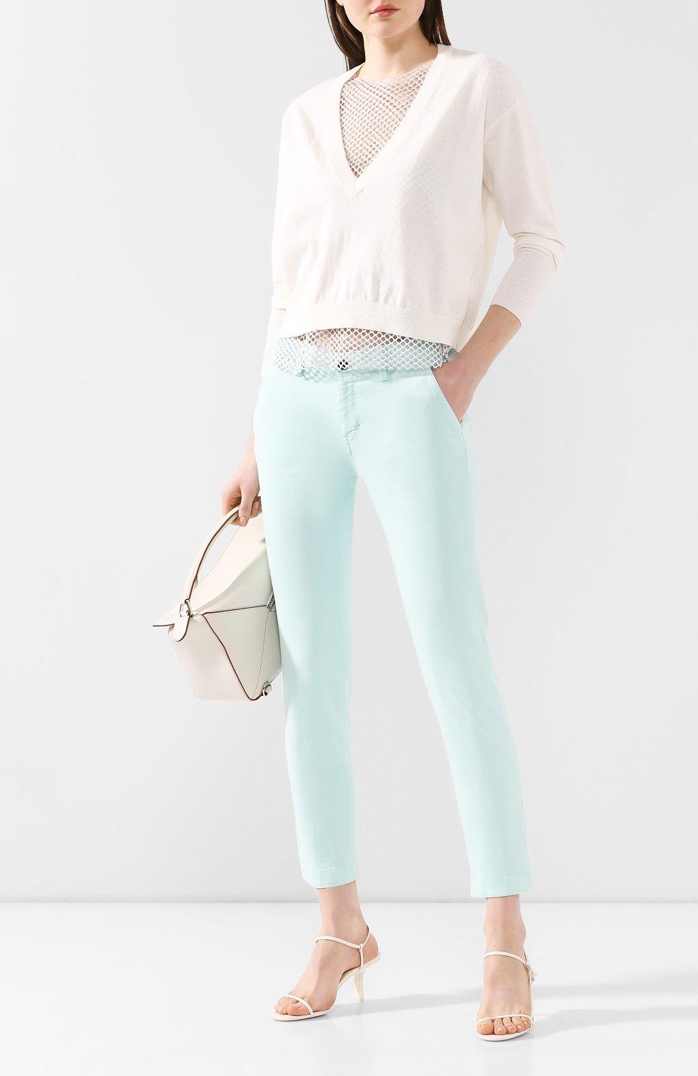 Женские джинсы WINDSOR бирюзового цвета, арт. 52 KAIA 10007049   Фото 2