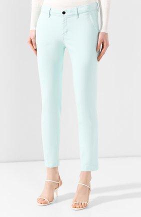 Женские джинсы WINDSOR бирюзового цвета, арт. 52 KAIA 10007049   Фото 3