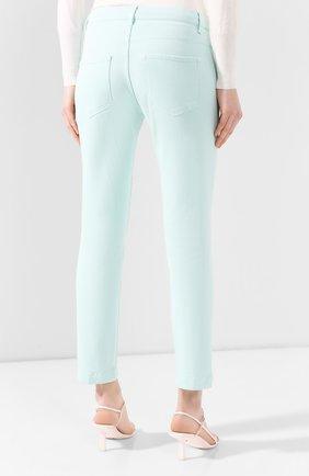 Женские джинсы WINDSOR бирюзового цвета, арт. 52 KAIA 10007049   Фото 4