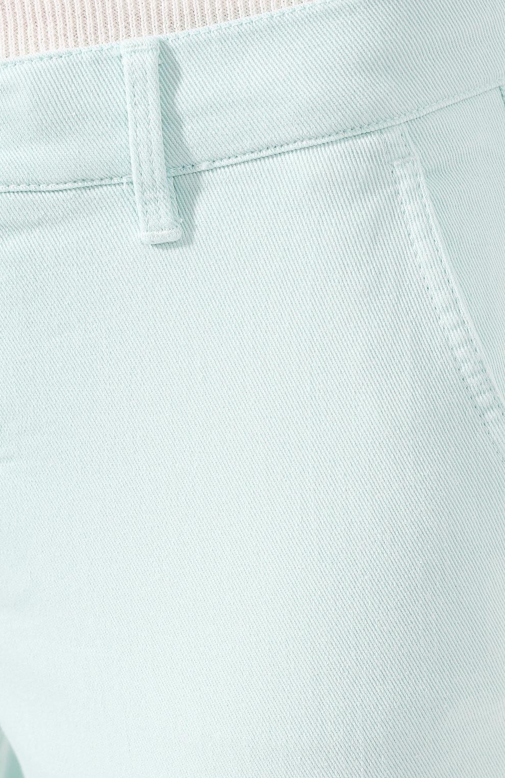 Женские джинсы WINDSOR бирюзового цвета, арт. 52 KAIA 10007049   Фото 5