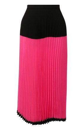 Женская плиссированная юбка MARKUS LUPFER фуксия цвета, арт. SK466 | Фото 1