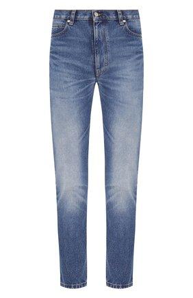 Женские джинсы AMI синего цвета, арт. E20FD010.601 | Фото 1