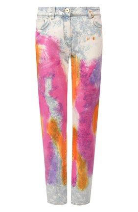Женские джинсы VERSACE разноцветного цвета, арт. A85386/A228455 | Фото 1