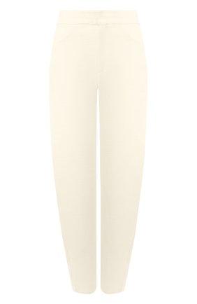 Женские хлопковые брюки TOTÊME бежевого цвета, арт. N0VARA 202-209-713 | Фото 1