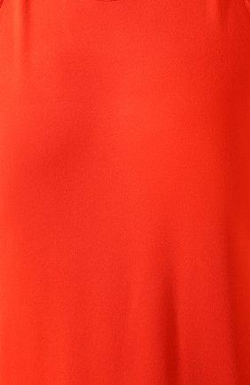 Женское платье из вискозы BOTTEGA VENETA оранжевого цвета, арт. 616993/VKI60 | Фото 5