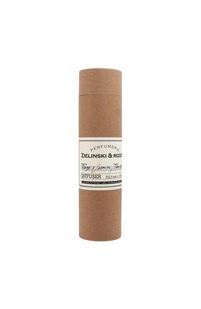 Мужского диффузор для ароматерапии orange & jasmine, vanilla ZIELINSKI&ROZEN бесцветного цвета, арт. 4627153152347 | Фото 1