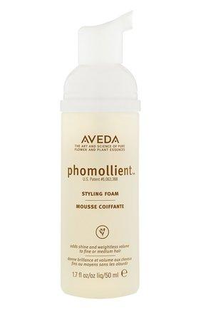 Женского мусс с медом легкой/средней фиксации для укладки тонких волос AVEDA бесцветного цвета, арт. 018084010464 | Фото 1