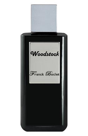 Женский духи woodstock FRANCK BOCLET бесцветного цвета, арт. 3575070054576 | Фото 1
