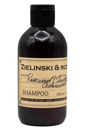 Женский шампунь rosewood & sandalwood, cedarwood ZIELINSKI&ROZEN бесцветного цвета, арт. 4627153152637   Фото 1