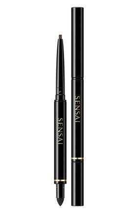 Женский карандаш для глаз, оттенок 02 deep brown SENSAI бесцветного цвета, арт. 81603 | Фото 1