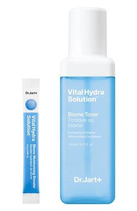 Женский увлажняющий биом-тоник + бустер vital hydra solution DR.JART+ бесцветного цвета, арт. 8809642712393 | Фото 1
