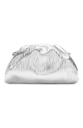 Женский клатч pouch 20 BOTTEGA VENETA серебряного цвета, арт. 585852/VCQ60 | Фото 1