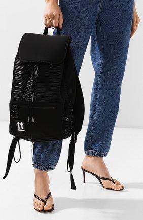 Женский рюкзак OFF-WHITE черного цвета, арт. 0WNB010R20H540681000 | Фото 2