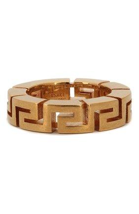 Женское кольцо greca VERSACE золотого цвета, арт. DG5H549/DJMT | Фото 1