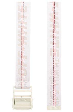 Женский ремень industrial OFF-WHITE белого цвета, арт. 0WRB009S20FAB0010101 | Фото 2