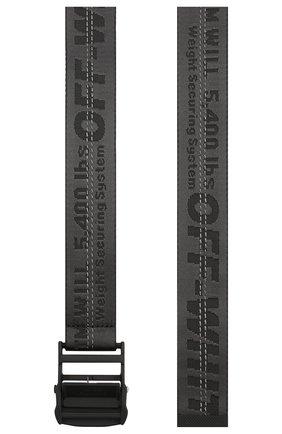 Женский ремень industrial OFF-WHITE черного цвета, арт. 0WRB009S20FAB0011010 | Фото 2