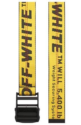 Женский ремень industrial OFF-WHITE желтого цвета, арт. 0WRB009S20FAB0011810 | Фото 2