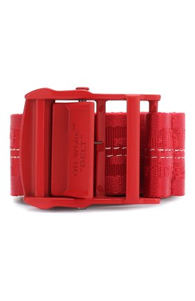 Женский ремень industrial OFF-WHITE красного цвета, арт. 0WRB009S20FAB0012525 | Фото 1