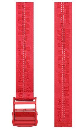 Женский ремень industrial OFF-WHITE красного цвета, арт. 0WRB009S20FAB0012525 | Фото 2