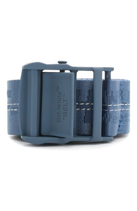 Женский ремень industrial OFF-WHITE синего цвета, арт. 0WRB009S20FAB0014545 | Фото 1
