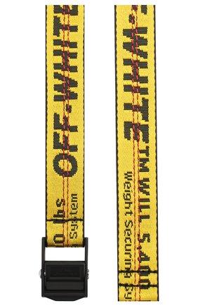 Женский ремень industrial OFF-WHITE желтого цвета, арт. 0WRB011S20FAB0011810 | Фото 2