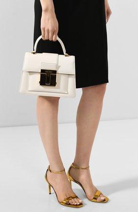 Женская сумка 001 small TOM FORD белого цвета, арт. L1310T-LG0009   Фото 2