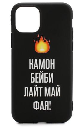 Мужской чехол для iphone 11 pro MISHRABOO черного цвета, арт. Камон бейби 11 Pro | Фото 1